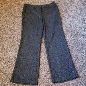 EUC Black/White Textured Dress/Work Pants